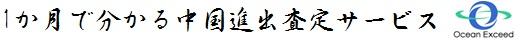 中国進出査定サービス